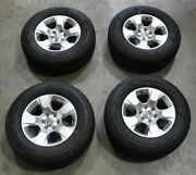 Oem Factory 19-21 Dodge Ram 1500 Silver Wheels With Fortitude Ht 275/65r18 Tires