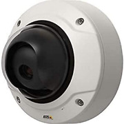 Axis 01022-001 Outdoor Fixed Dome Network Surveillance Camera 28 V White