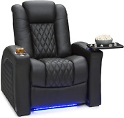 Seatcraft Stanza - Home Theater Seating - Top Grain Leather - Power Recline - Po