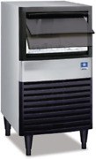 Manitowoc Ude-0065a 19 3/4 Air Cooled Undercounter Full Size Cube Ice Machine W