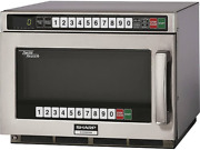 Sharp R-cd2200m - Commercial Microwave Oven Twintouch 2200w S/s 17-1/2w X 2