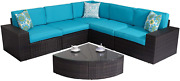 Favorable Mixed-colored Ultimate Comfort Durable Outdoor Home Patio Yard Porch R