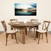 Hercules Series Round Dining Table | Farm Inspired Rustic And Pine Dining