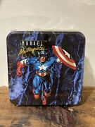 1993 Marvel Masterpieces Series 1 - Sealed Box And Tin