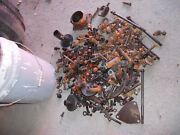 Allis Chalmers Ac Wc Tractor Bucket Of Nuts Bolts Parts Pieces