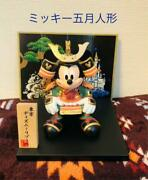 Mickey Mouse Figurine Ornament May Doll Boysand039 Festival Disney Limited Item Used
