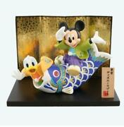 Mickey Mouse Figurine Ornament 18 Cm May Doll Boys' Festival Limited Item Unused