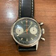 Zodiac Antique Chronograph Hand-wound Case Size 36mm Menand039s Wristwatches Used
