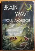Brain Wave By Poul Anderson - F/g 1st Ed. - Double Signed