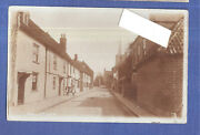 Rp High Street Ash N Dover Canterbury Kent Tea Shop To The Left Used With Stamp