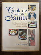 Vintage 2001 Cooking With The Saints Ignatius Old Authentic Cookbook Recipes