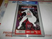 Captain America 25 Cgc 9.8 Sam Wilson As Cap Combined Shipping Available