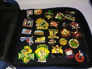 Cooperstown Dreams Park Baseball Pins W/carrying Case