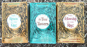 Lord Of The Rings Trilogy 1978 Us First Editions Tolkien W/facs Dust Jackets