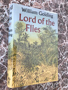 Lord Of The Flies Uk First Edition 1955william Golding With Facs Dust Jacket