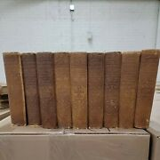 Colliers New Encyclopedia 1921 9 Volume Lot Hardcover