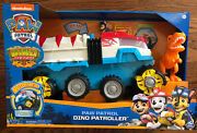 Paw Patrol Dino Patroller Dino Rescue Motorized Team Vehicle-in Hand-chase/t Rex
