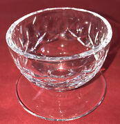 Waterford Crystal Rosslare Footed Dessert Bowl 3 Tall Mint