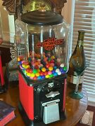 1950's Victor Gumball Vending Machine Topper - 1 Cent Coin Mechanism