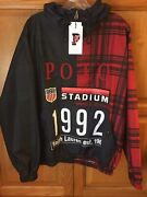 Polo Limited Tartan 1992 Stadium Jacket Nwt S Snowbeach Crest