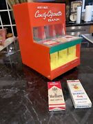 Candy Cigarette 50's Plastic Toy Vending Machine Bank By Miner-matic Mega Rare