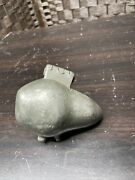 Pear Shaped Ice Cream, Butter, Chocolate Mold. Pewter Vintage No. 248