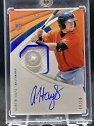 Austin Hays 2018 Panini Immaculate Rc Button Auto Rookie /10-- Orioles