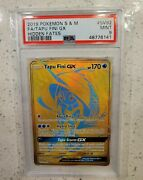 Pokemon Tapu Fini Gx Sv92/sv94 Hidden Fates Full Art Shiny Vault Psa 9 Nm Nice