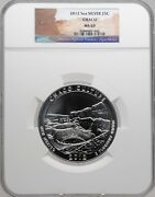 2012 5oz Silver 25c Chaco Ngc Ms 69 Must See