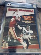 Sports Illustrated 1982 Dwight Clark Cgc 9.2 Newsstand 1st Of 3 Graded