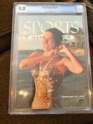 Sports Illustrated Newsstand 1955 Swimsuit Cgc 9.0