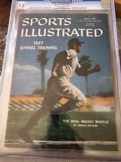 Sports Illustrated 1957 Mickey Mantle Cgc 7.5