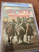 Sports Illustrated Newsstand 1954 Calgary Stampede Rodeo Cgc 9.4 1st Tie Of 5