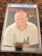 Sports Illustrated Newsstand 1962 Mickey Mantle Cgc 8.0 3rd Highest Gr. 98.5