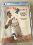 Sports Illustrated Newsstand 1964 Sandy Koufax Cgc 8.5 Second Of 6