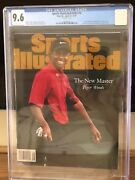 Sports Illustrated Tiger Woods 4/1997 Cgc 9.6 Second Highest Grade Newsstand