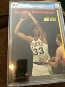 Sports Illustrated Newsstand 1970 Lew Alcindor Cgc 8.5 Second Nba Cover.