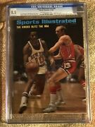 Sports Illustrated 1969 Walt Frazier Newstand Cgc 8.5 Highest Graded First Cover