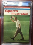 Sports Illustrated Newsstand 1962 Jack Nicklaus Cgc 7.0 Highest Graded