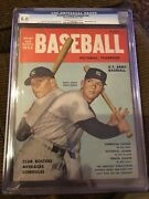 Street And Smith Baseball Ns Issue Rare 1953 Mickey Mantle Cgc 6.0 Only I Higher