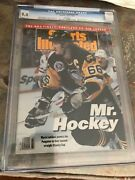 Sports Illustrated 1992 Mario Lemieux Newstand Cgc 9.4 1st Of 1 Graded