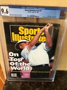 Sports Illustrated 4/20/1992 Newsstand Fred Couples Cgc 9.6 Highest Grade