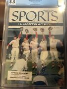 Sports Illustrated Newsstand 1956 Stan Musial Fc Cgc 8.5 2nd Tie Of 6