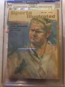 Sports Illustrated Newsstand 1963 Jack Nicklaus Cgc 8.0 1 Of 1