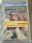Sports Illustrated Newsstand 1960 Bobby Hull Fc Cgc 7.5