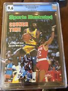 Sports Illustrated Newsstand 1986 James Worthy First Pro Cover Cgc 9.6 1st Of 1