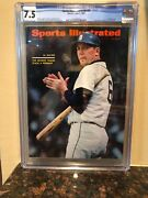 Sports Illustrated Newsstand 1967 Al Kaline Cgc 7.5 Highest Grade On The Planet