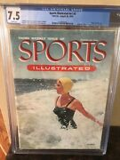 Sports Illustrated First Swimsuit 8/30/1954 Newstand Cgc 7.5 High Grade.. Only