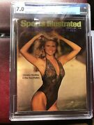 Sports Illustrated Newsstand 1979 Christie Brinkley Fc Cgc 7.0 2nd High Graded