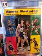 Sports Illustrated Newsstand 1968 Pete Maravich Fc Cgc 7.0 4th Of 12 Graded